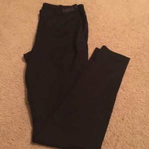 Fleece-lined Nike Leggings